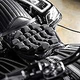 Asiento de coche universal cover set protector Mat Agua rellenable la almohadilla del asiento de la motocicleta del crucero de Touring Sillas de montar de aire del amortiguador de asiento de alivio de