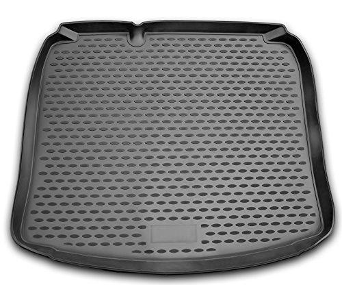 AD Tuning TMP11001 Passform Kofferraumwanne, Anti-Rutsch Oberfläche, schwarz