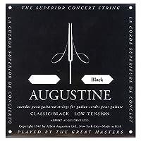 AUGUSTINE オーガスチン クラシックギター弦 ブラック1弦  BLACK 1st