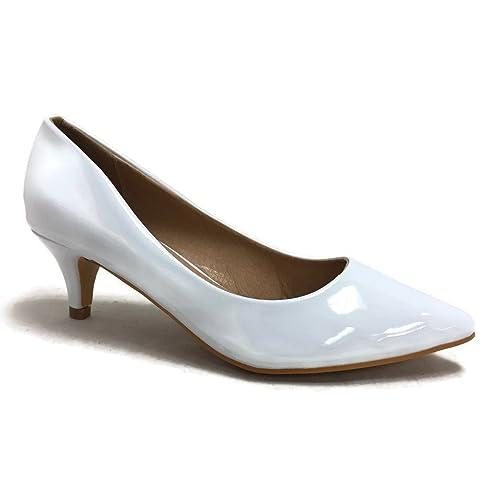 d26f3e28e6fd9 Synthetic Kitten-heel Pumps: Amazon.com
