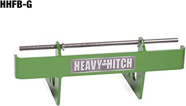 Heavy Hitch Quick Attach Front Suitcase Weight Bracket - Bracket Only, Green