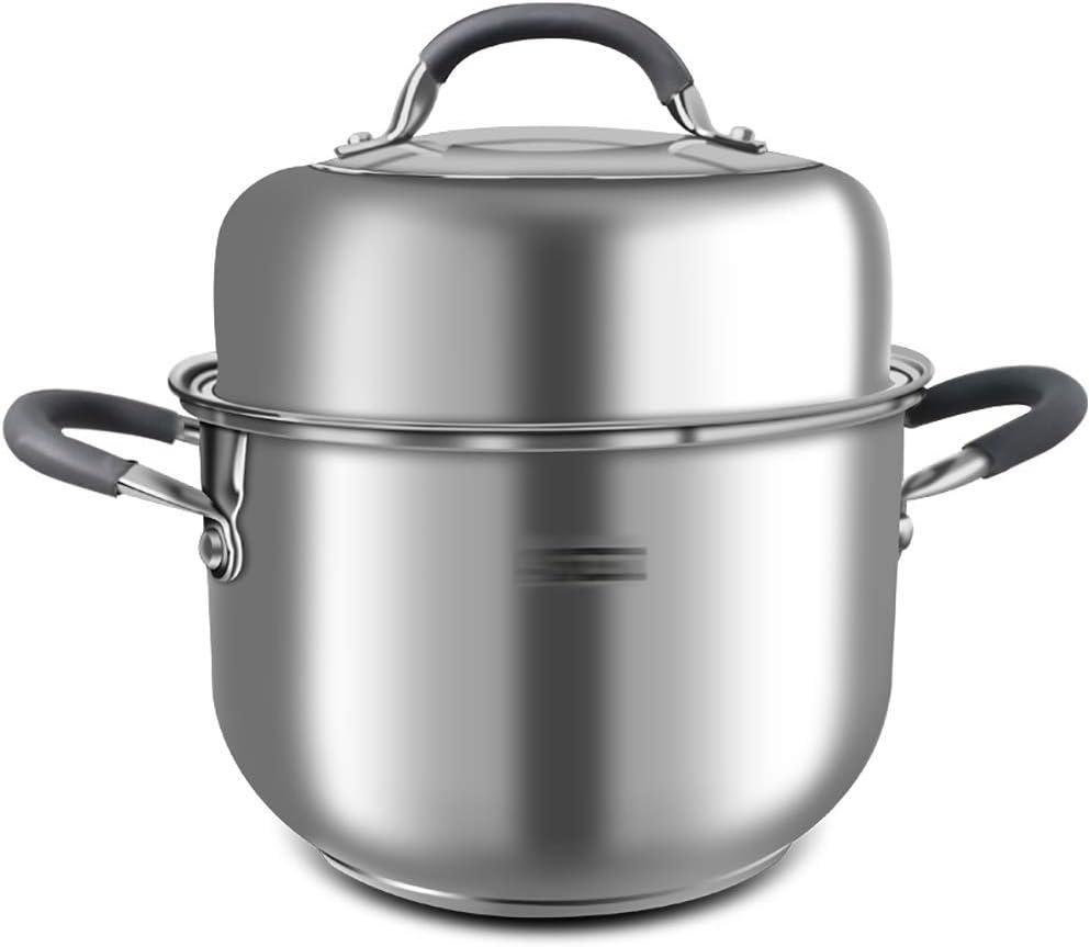 HLL Pots Steamer Arlington Portland Mall Mall Pot 22Cm Stock Soup Thi Lid with Pasta
