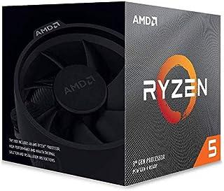 AMD Ryzen 5 3600X with Wraith Spire cooler 3.8GHz 6コア / 12スレッド 35MB 95W 100-100000022BOX 三年保証 [並行輸入品]