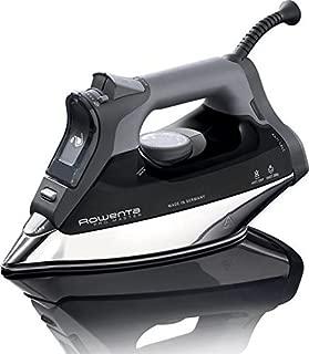Rowenta DW8156 1800 Watt ProMaster Steam Iron with Platinium Soleplate (Black)
