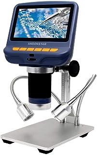 USDWRM USB Digital Electronic Microscope for Andonstar AD106S Digital USB Microscope 4.3-inch Display THT SMD SMT Solderin...
