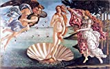 Pintura famosa clásica Nacimiento de Venus de Botticelli póster mural sobre lienzo arte sala decoración pintura sin marco40x60cm