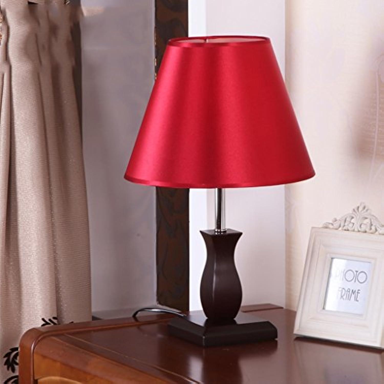 Tischlampe holz nachttischlampe schlafzimmer tischlampe taste licht hochzeit hochzeit tischlampe romantische geschenk A+ (Farbe   A)