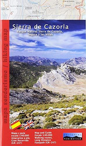 Sierra de Cazorla 1: 40.000