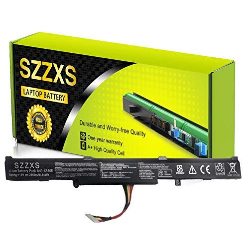 A41-X550E Batterie pour Ordinateur Portable Compatible avec ASUS A450J A450e A450JF X450X450e X550e X450JF K550E K751L F751M(4-polig, 15 V, 44 Wh, 2950 mAh)