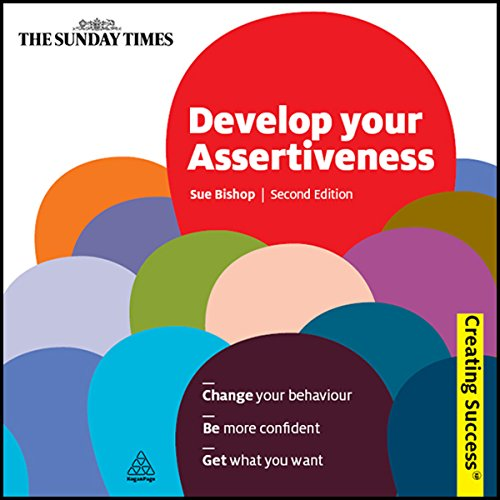 Develop Your Assertiveness audiobook cover art