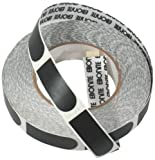 Ebonite Ultra Grip Bowlers Tape (500 Piece Roll), Black, 3/4-Inch
