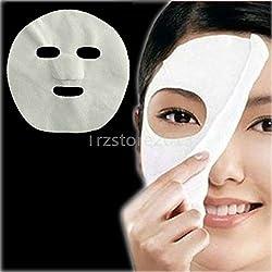 powerful Ammas Lucci 200 Women Nonwoven DIY Face Mask Face Mask Paper Cotton Spa Salon Tool (200 Pieces)