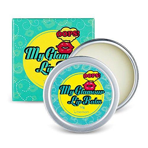 berrisom–Oops. My Glamour Lip Balm–Bálsamo de labios transparente–Acabado Glossy Bálsamo para berrisom My Lip Tint Pack