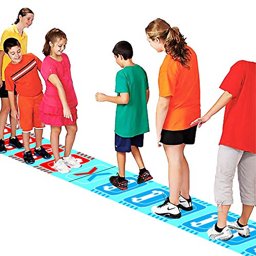 KINDEN Traffic Jam Group Games Team Challenge Class Training Course Puzzle Game for Field Day Carnival
