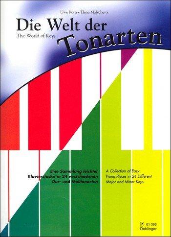 Die Welt der Tonarten für Klavier