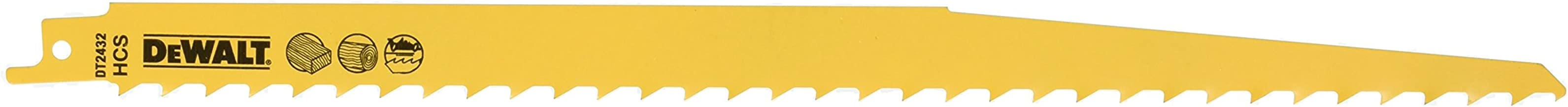 Dewalt Dt2432 Tilki Kuyruğu Testere, Sarı, 5 Adet
