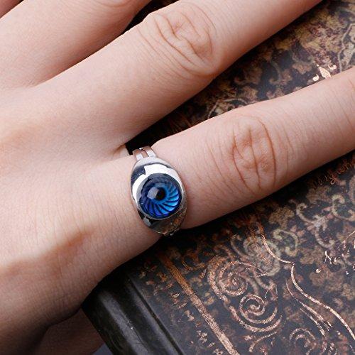 Autone Magic Eye Form Farbwechsel Stimmungsring Emotion Feeling Temperatur Ringe