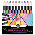 Original Stationery: Hair Chalks Set for Girls, 10 Piece Temporary Hair Chalk Colors