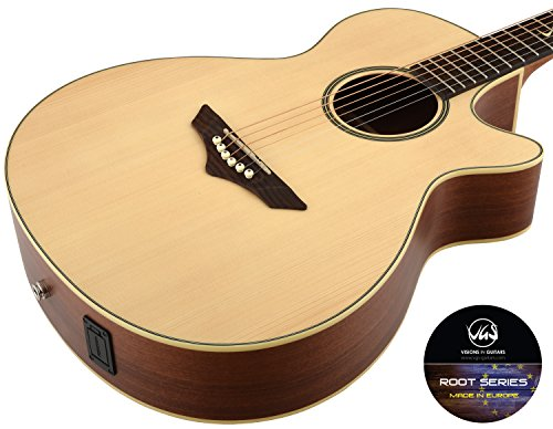 VGS Akustikgitarre RT-S Root, Natural Satin