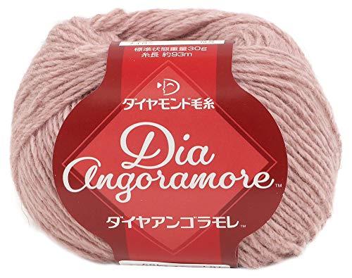 秋冬毛糸 Dia Angoramore(ダイヤアンゴラモレ) 9405番色 DIAMONDO ダイヤモンド