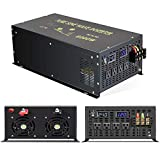 Reliable 6000W Continuous Power Heavy Duty Pure Sine Wave Power Inverter DC 24V to AC 110V 120V with...