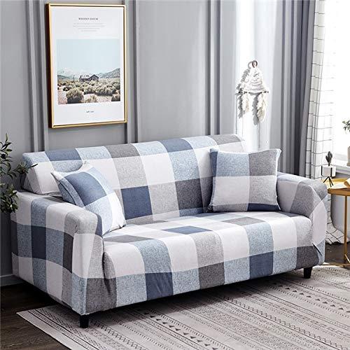 PPMP Wohnzimmer Moderne elastische geometrische Sofabezug Wohnzimmer elastische Sofabezug Sofaboden Sofa Stuhlbezug A15 1-Sitzer