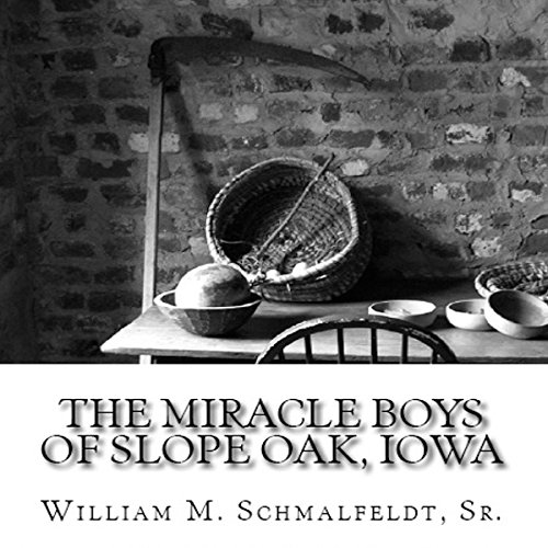 The Miracle Boys of Slope Oak, Iowa audiobook cover art