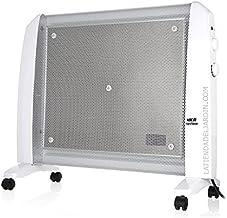 Suinga Radiador de MICA. Potencia máxima 1500W. 2 potencias de calor: 750W-1500W. Elemento calefactor mica. Rápida convección y difusión del calor. Máximo rendimiento en 1 minuto.