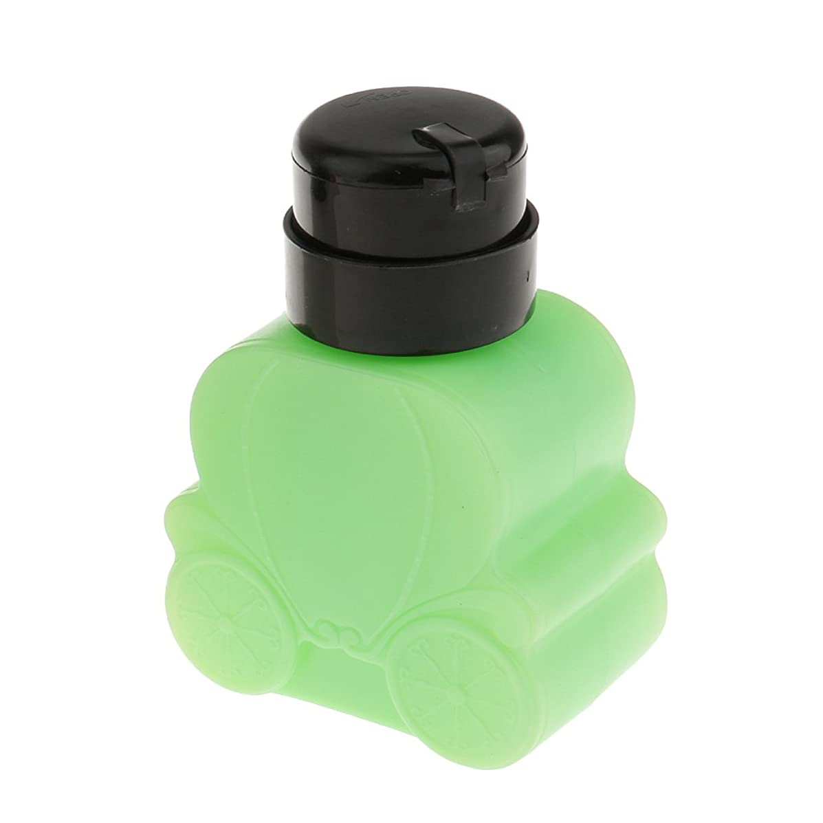 農学クリップブラジャーCUTICATE 空のネイルボトル 240ミリリットル プラスチック製