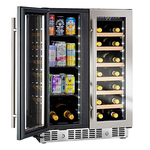 """N'FINITY PRO HDX by Wine Enthusiast 24"""" Wine and Beverage Center"""