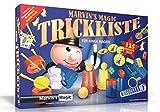 Marvin's Magic 54063 - Zauberkasten Marvin`s Zauber-Set 125 Tricks, Komplettset für 125 Zaubertricks, Zauber Set für Magier ab 6 Jahre, Ausstattungsset mit deutscher Anleitung zum Zaubern lernen