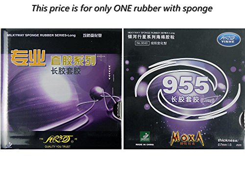 Big Save! Yinhe 955 Long Pips Out Table Tennis Rubber sheet