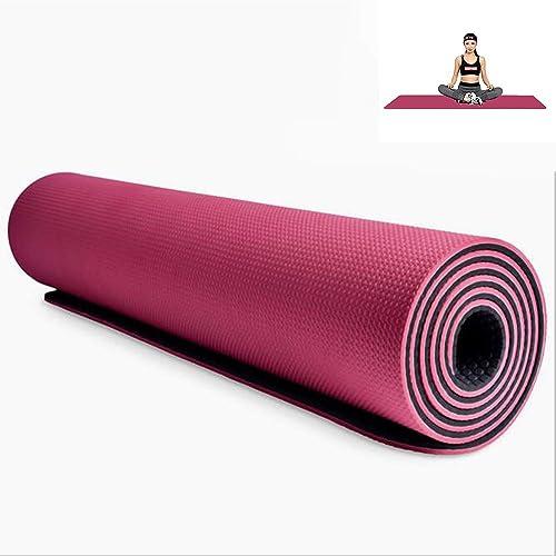 grist CC Tapis de Yoga 8mmSBS, Tapis Anti-dérapant pour Fitness