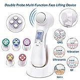 6 in 1 Face Light Machine Vibration Facial Beauty Massager