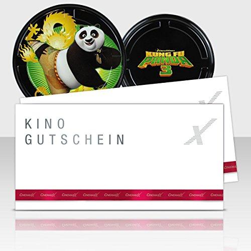 CinemaxX KungFu Panda Green Filmdose mit 2 Kinogutscheinen