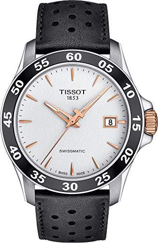 Tissot Men's V8 Swissmatic - T1064072603100 Silver/Black One Size