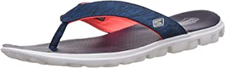 Skechers Women's On-The-Go - Flow Grey and Hot Pink Slippers (13631-Gyhp)