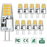 AMBOTHER G4 LED Lampen, 3W LED Birnen ersetzt 35W...