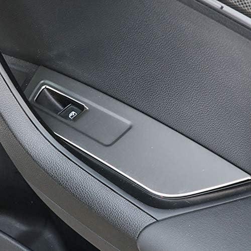 High Flying Für Karoq 2017 2018 2019 2020 Interieur Tür Taste Interieurleisten 4 Stück Edelstahl Auto