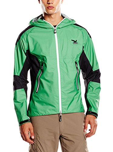 Salewa 00-0000022705 Veste Powertex pour Homme Garwhal Vert Taille 52 cm