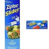 Ziploc Slider Freezer Bag Multi-Size Combo Pack - Gallon, Quart