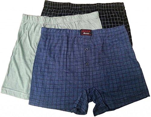 Heren Boxers diverse kleuren Billy merk Shorts ondergoed Trunks Pack van 6 (X-Large)