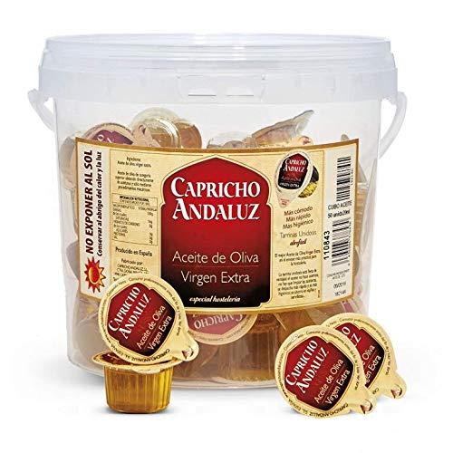 Cubo 50 Tarrinas 20ml Aceite Oliva Virgen Extra - Capricho ...