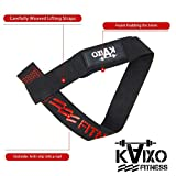 Zoom IMG-2 kaixo fitness cinghie palestra sollevamento