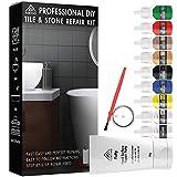Tile Repair Kit Stone Repair Kit - Porcelain Repair Kit for Cracked Stone, Crack...