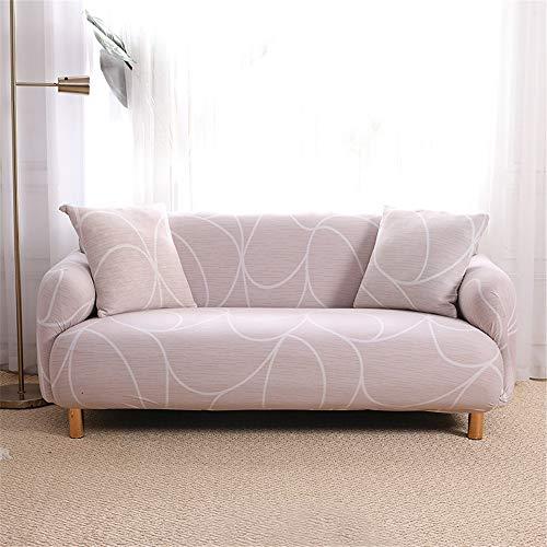 Youjoy Sofabezüge - L-Form Bedruckte Sofabezug Sessel Schonbezug Spandex Möbelschutzbezug, 1/2/3/4 Sitze