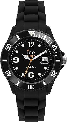Ice-Watch - ICE forever Black - Montre noire avec bracelet en silicone