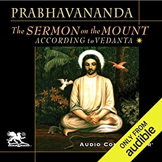 The Sermon on the Mount According to Vedanta audiobook cover art