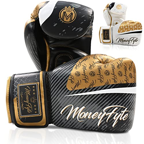MoneyFyte Precision Striking Boxing Gloves for Men, Women, Adults, Teen, Youth – for Boxing,...