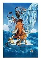 ジグソーパズル ジグソーパズル大人の子供のパズルおもちゃPt Basswood木製のジグソーパズルアイスエイジ映画ポスター映画静止画漫画絵画ぶら下げ絵の完璧なカット&フィット、300~6000個の爪のおもちゃ (Size : 500P)